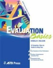 Evaluation Basics (ASTD Training Basics), Deborah D. Tobey, Don McCain, Good Boo