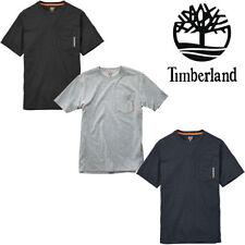 Timberland PRO Men Base Plate Blended TALL Short Sleeve Workwear T-Shirt 30+ UPF