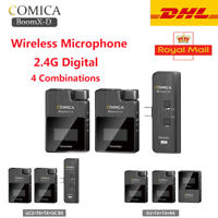 COMICA BoomX-D 2.4G Dig 1-Trigger Mini Wireless Microphone Transmitter Receiver
