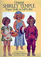 1988 Original Shirley Temple Paper Dolls Book