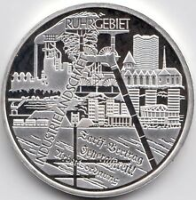 10 Euro Gedenkmünze Industrieland. Ruhrgebiet 2003 Polierte Platte Silber 925/-