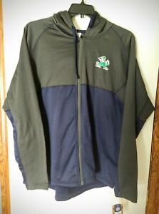Mens Notre Dame Hoodie Sweater Size XL New With Tags Fighting Irish Football