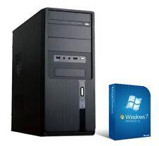 Computer gamer PC AMD A10 8gb 120GB SSD 500GB Rechner Komplett System windows 7