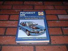 HAYNES MANUAL FOR PEUGEOT 306.1993-1999. K TO T REGISTRATION.