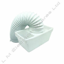 White Knight Universal Tumble Dryer Indoor Condenser Vent Kit Box With Hose