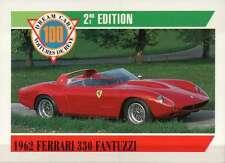 1962 Ferrari 330 Fantuzzi, Dream Cars Trading Card, Automobile --- Not Postcard