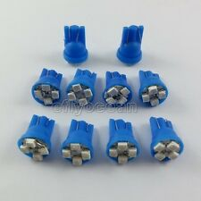 100x T10 3528 SMD 4 LED Wedge Tail Car Blue Light Bulb 194 168 W5W 12V hot NEW