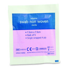 Religauze Swabs Non Woven  Sterile 4ply  (5GM0X8501)