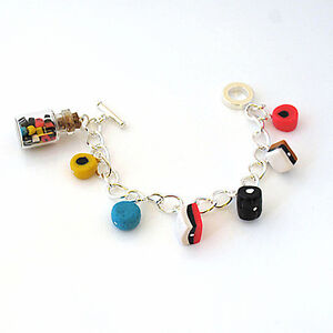 liquorice allsorts bracelet valentine handmade sweets candy gift ideas birthday