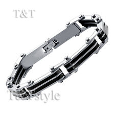 Stainless Steel Bracelet Bbr120 Elegant T&T 316L Solid