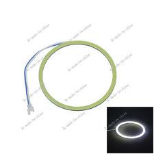 White 140mm/5.51in 144 Chips Car COB Led Angel Eyes Halo Ring Light 9V-30V O140