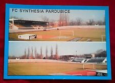 FC SYNTHESIA PARDUBICE 1992 FOOTBALL POST CARD CZECH REPUBLIC REAL PHOTO RP VGC