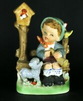 Foreign Boy In Springtime Figurine 13cm Tall VTG | FREE Delivery UK*