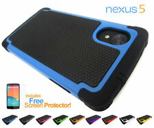Unbranded/Generic Silicone/Gel/Rubber Matte Mobile Phone Cases, Covers & Skins for LG Nexus 5