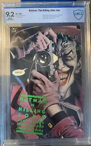 Batman: The Killing Joke (1988) CBCS 9.2 Green 1st print , White Pages Like CGC