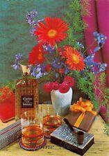 Carte postale ancienne postcard FLEURS FLOWERS BLUMEN FIORI FLORE whisky CLARION