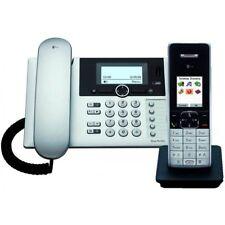 Telekom Sinus PA 503i Plus 1 Silber Voice ISDN Festnetztelefon +1 DECT Mobilteil