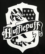 HARRY POTTER Hogwarts HUFFLEPUFF HOUSE CREST vinyl car or computer decal!