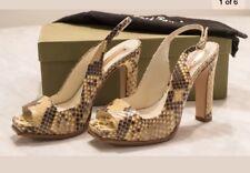 Authentic Rupert Sanderson Python Shoes. UK3.5/EUR36.5 Platform Sandals. New