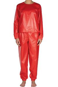 Suprima PVC-Schlafanzug 9612 Ober- und Unterteil verschiedene Farben rubber