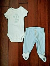 Just One You by Carter's Baby Size Nb 2-Pc Outfit Nwot