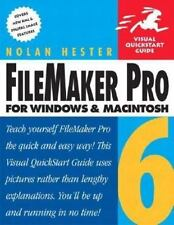 FileMaker Pro 6 for Windows & Macintosh