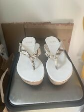 Stuart Weitzman Wedge Sandals 7W