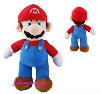 "Super Mario Bros Mario Plush Stuffed Animal Toy 10"" US Seller"