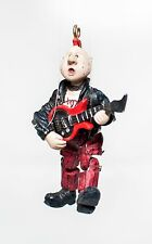 Red & Black Rocker Dude Vintage Wupper