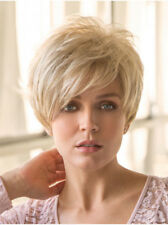 GIA Rene of Paris Short Pixie Synthetic Wig, Creamy Toffee Blonde