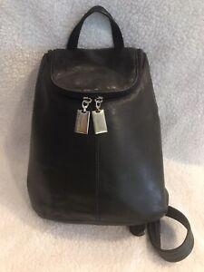 Tignanello Genuine Leather backpack, black