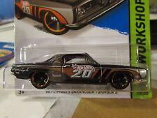 Hot Wheels '68 Plymouth Barracuda Formula S HW Workshop Black