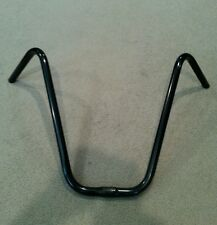"NEW BLACK BICYCLE V  HANDLE BARS 16"" (25.4mm)"