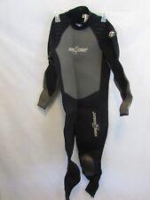 SeaQuest Isoflex Wet Suit Long Sleeves Knee Guards Size Small Scuba Diving