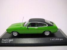 Minichamps 1/43 Ford Capri II 1974 green