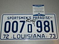 RICHARD DREYFUSS Signed JAWS Autographed License Plate Beckett BAS COA - Rare