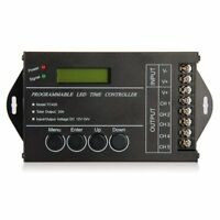 20A temporizador programable DC12-24V controlador para / rayas LED RGB T9L2