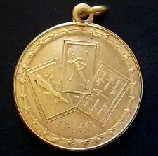 "ARGENTINA ""TRUCO"" BEAUTY MEDAL TYPICAL CARD GAME VINTAGE PRIZE ""TRUCO FAHY CLUB"""