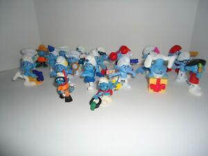 "24 Piece Toy Smurf Collection - Toy Figurines - 3"" plastic"