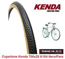 """Copertone KENDA 700x28 (28-622) K184 Nero-Para per Bici 28"""" R Viaggio bacchetta"""