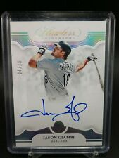 2019 Panini Flawless Jason Giambi Auto 4 /25 New York Yankees On Card