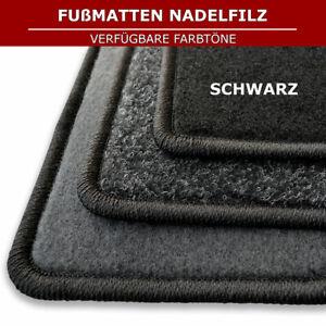 Automatten für Mitsubishi Colt 6 Z3/Z2 3tür (2004-2012) - Schwarz Nadelfiz 4tlg