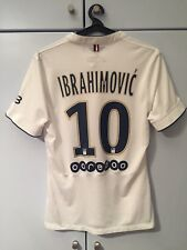 Maillot De Football PSG Player Issue Match Version Ibrahimovic 2015 Jersey Away