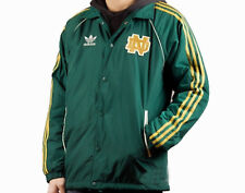 RARE! adidas Originals 1978 Retro Men's NOTRE DAME Fighting Irish Jacket MEDIUM