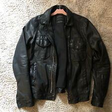 All Saints Morson leather jacket extra small