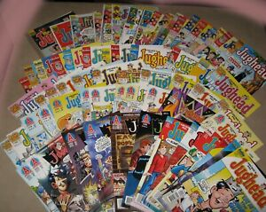 Jughead Comics from Archie Lot of 69 Issues No Doubles Many VF-NM Some Signed