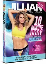 DVD - Exercise - Jillian Michaels: 10 Minute Body Transformation - 2nd Edition
