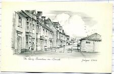 Burnham - on - Crouch : The Quay:  pencil etching format
