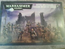 WARHAMMER 40K ASTRA MILITARUM CADIAN INFANTRY SQUAD - NEW & SEALED