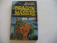 ACE DOUBLE F-185 DRAGON MASTERS/FIVE GOLD BANDS BY JACK VANCE - SCI-FI PB - 1962